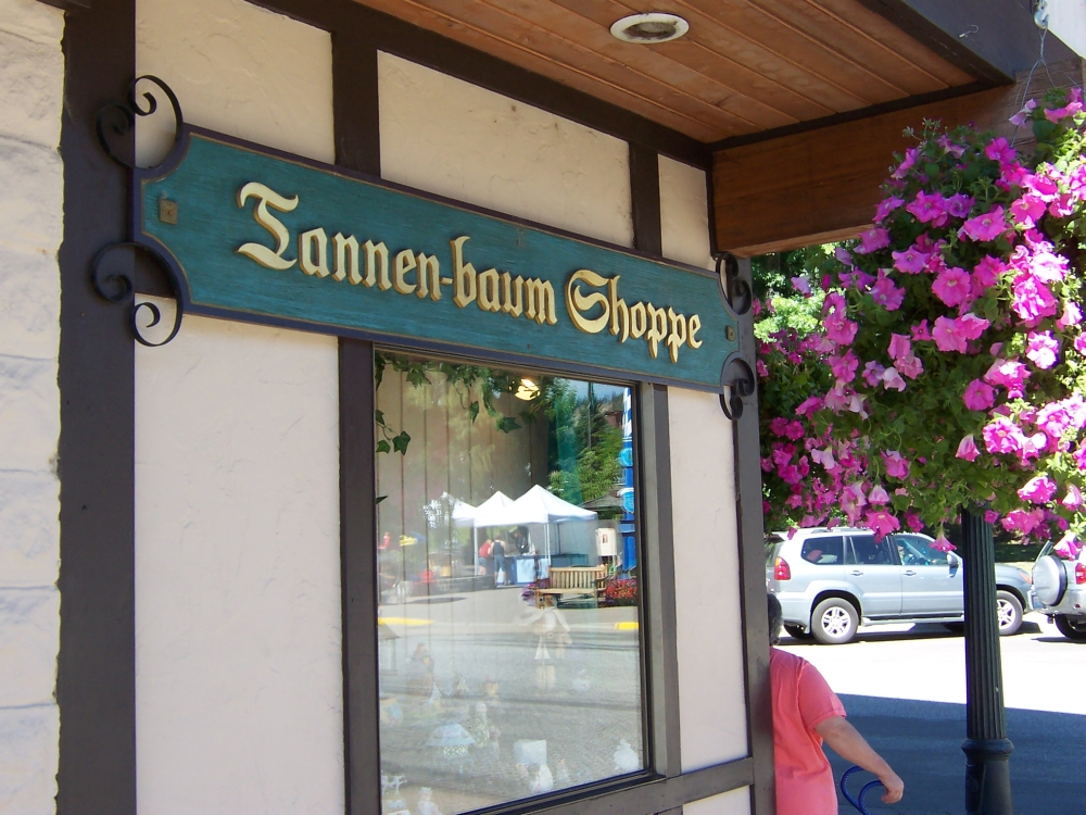 Tannen-baum Shoppe Leavenworth WA USA