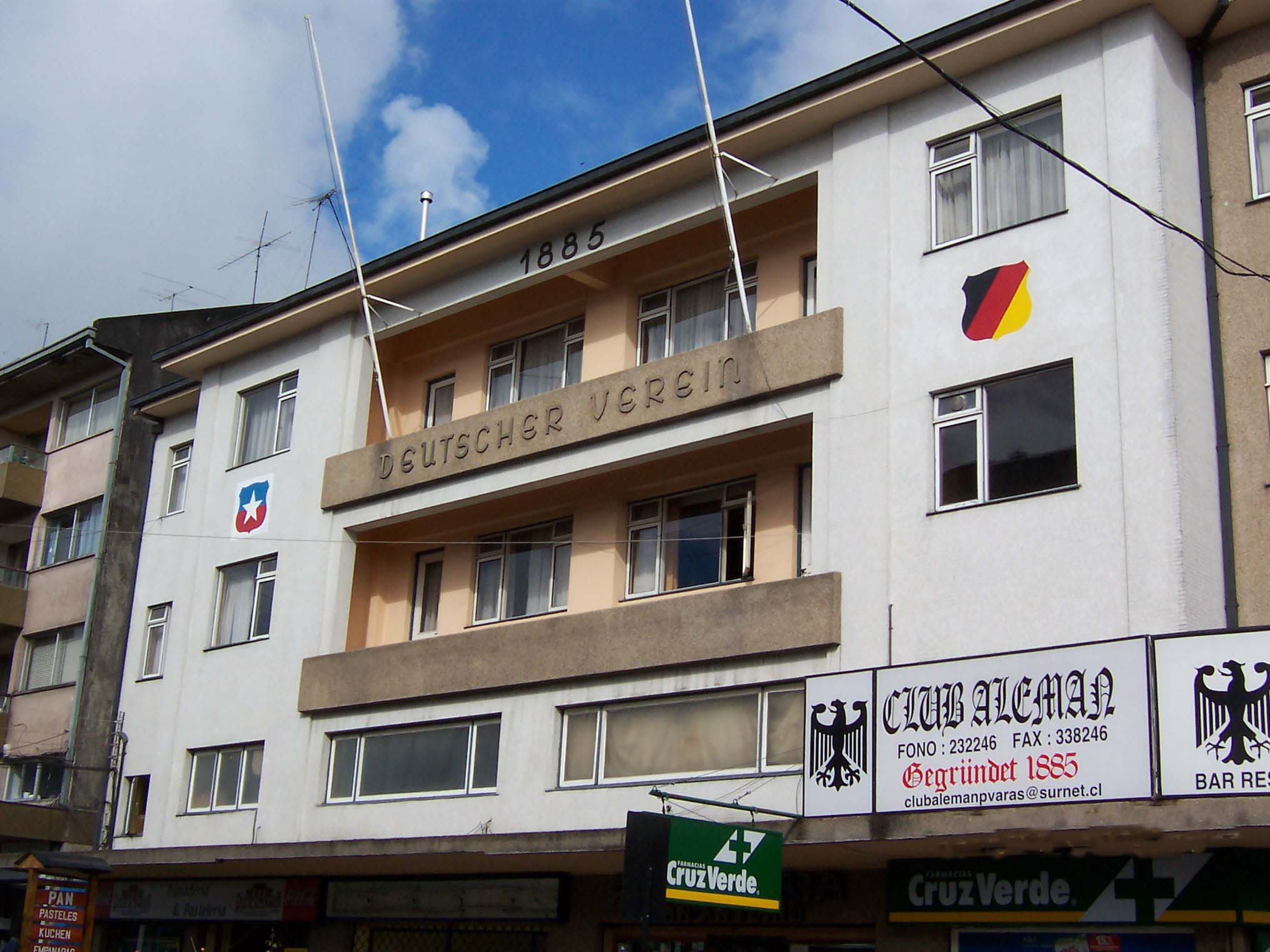 Club Alemán (German Club) in Puerto Varas, Chile (2004)